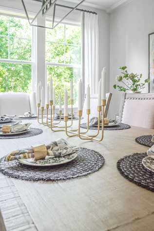 Light & Shadow - Dining Room Table Setting