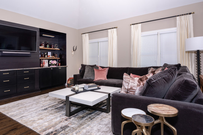 Fun & Family Game Room - Den Seating