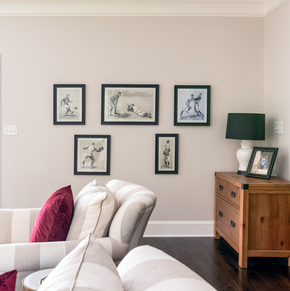 Fun & Family Game Room - Gallery Wall