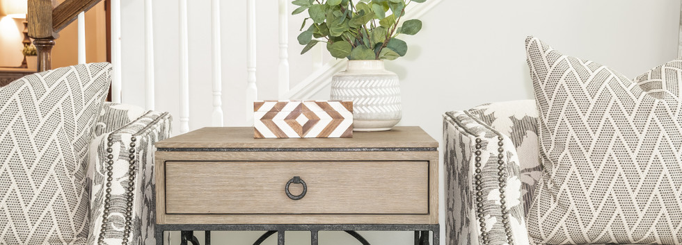 Light & Shadow - Living Room Side Table