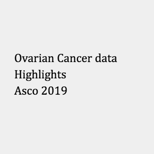 Ovarian cancer report - data from ASCO 2019