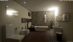 Bathroom design UE4