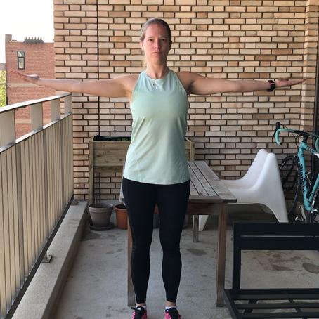 Mobiliteitsoefeningen voor de schouder