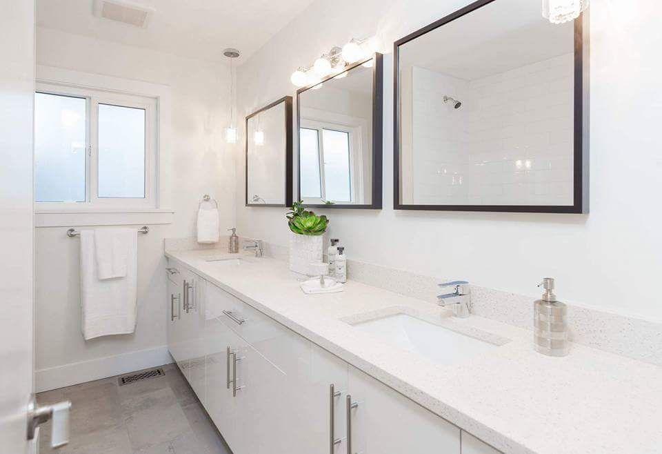 Quartz countertop for vanity