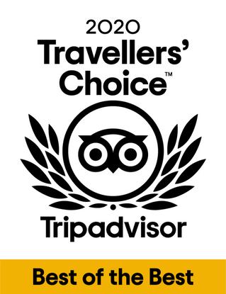 Travellers' Choice Award 2020