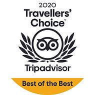 Round Tripadvisor 2020 Best of the Best.