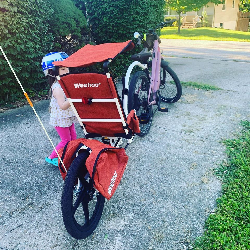 weehoo bike trailer