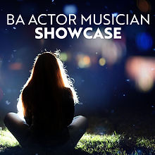 BA Actor Musician Showcase Logo - Square
