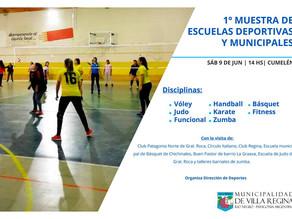 Primera muestra de Escuelas Deportivas y Municipales