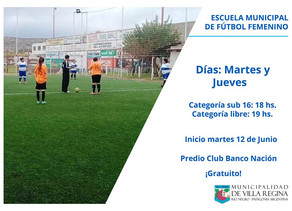 Escuela Municipal de Fútbol Femenino
