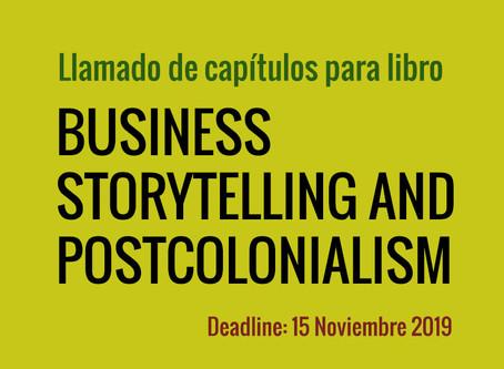 Llamado de capítulos: Business Storytelling and Postcolonialism