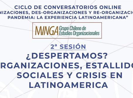 ¿Despertamos? Organizaciones, estallidos sociales y crisis en Latinoamérica