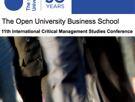 Convocatoria: 11ª Conferencia Internacional Critical Management Studies
