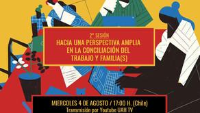 2°Conversatorio Minga2021:Hacia una perspectiva amplia de la temporalidad entre trabajo y familia(s)