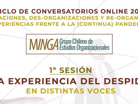 1er Conversatorio Minga 2021: La experiencia del despido en distintas voces