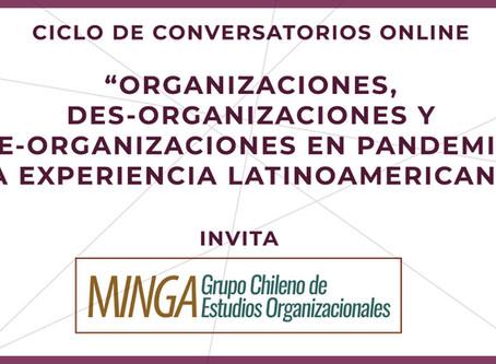 Minga invita: Ciclo de Conversatorios Online