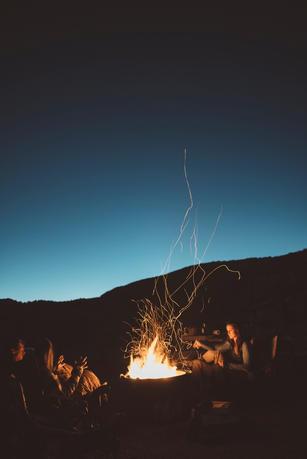 glamping in the desert