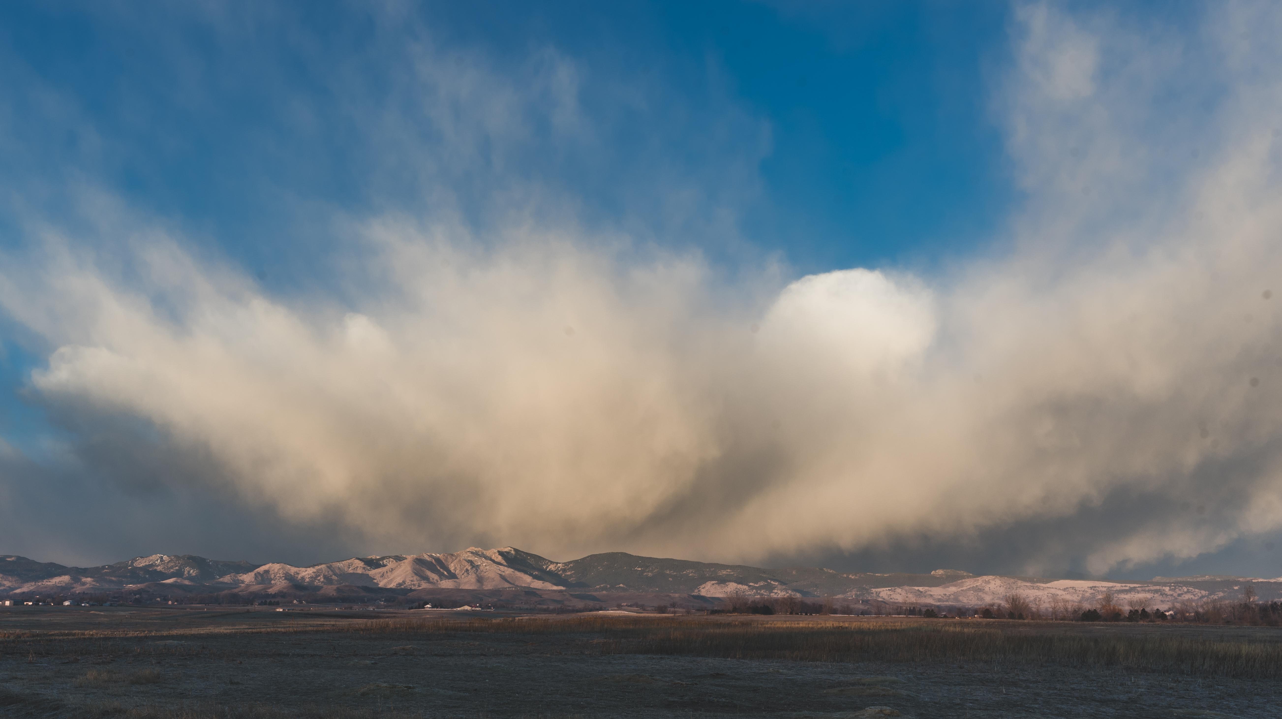 Front range clouds