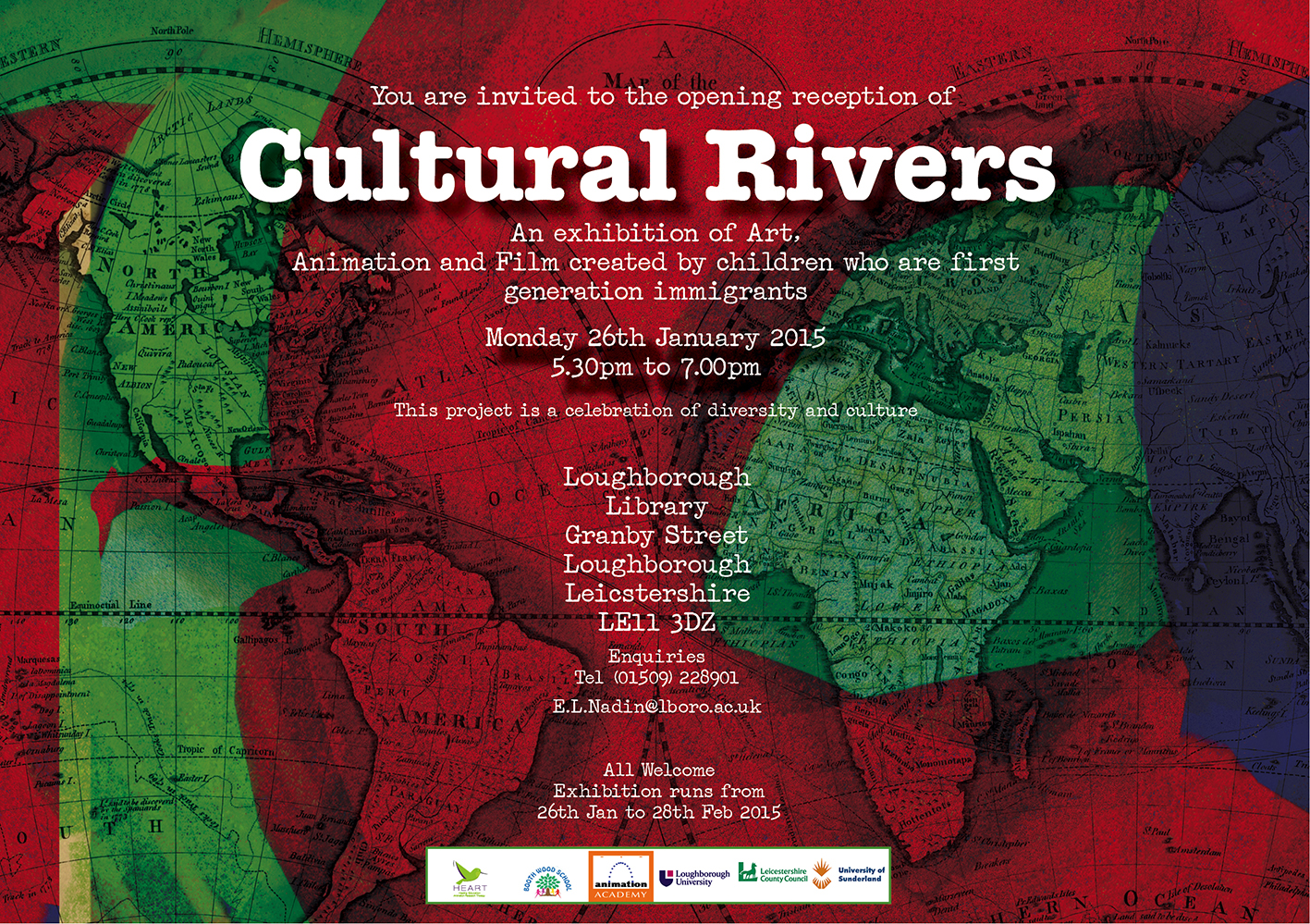 Cultural Rivers Loughborough Library