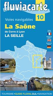 Guide Fluviacarte n°10 La Saône