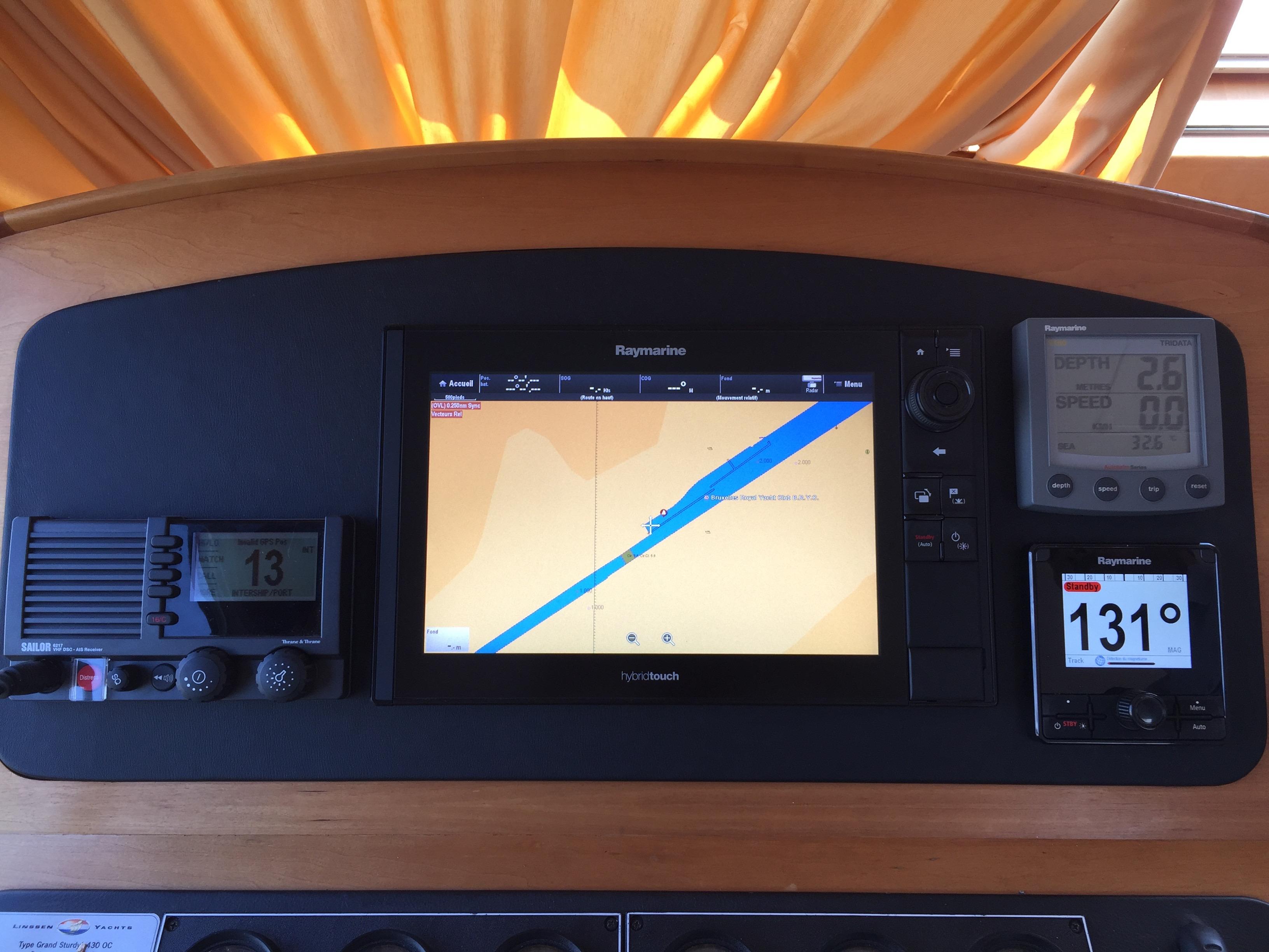 installation électronique bateau