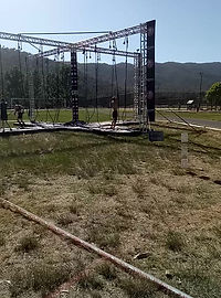 Xavier rope climb