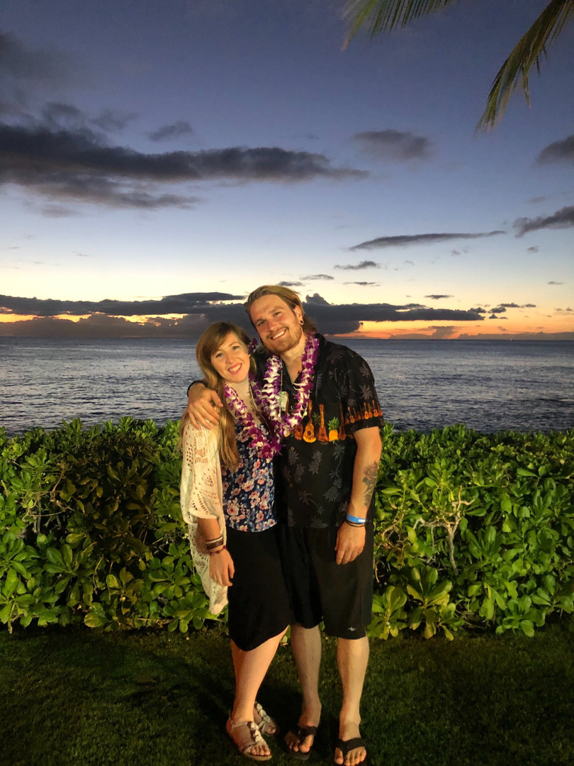 Hawaii Sarah Nugent Osteopath with partner