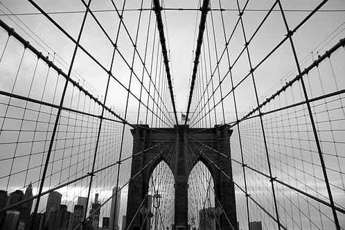Brooklyn Bridge Geometry