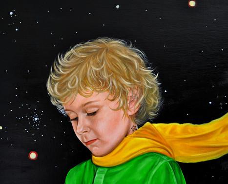 «Etoile et B612», le petit prince habite sur l'asteroïde B-612. (Chap. IV)