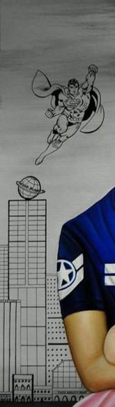 Métropolis est une ville imaginaire qui est le lieu des aventures du super-héros Superman, personnage de fiction créé en 1933 par l'écrivain américain Jerry Siegel et l'artiste canadien Joe Shuster, et considéré comme une icône culturelle américaine. Venant de la planète Krypton, Superman est rebaptisé Clark Kent par ses adoptants terriens et travaille comme journaliste au Daily Planet, à Metropolis.