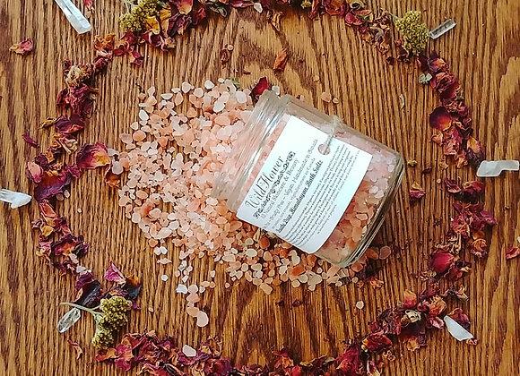 Breathe Deep Pink Himalayan Bath Salts