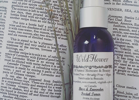 Lavender and Rose Facial Toner