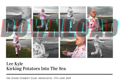 Lee Kyle Kicking Potatoes Into The Sea (