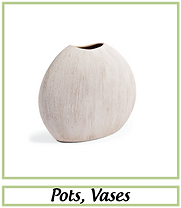 Vases artificiels
