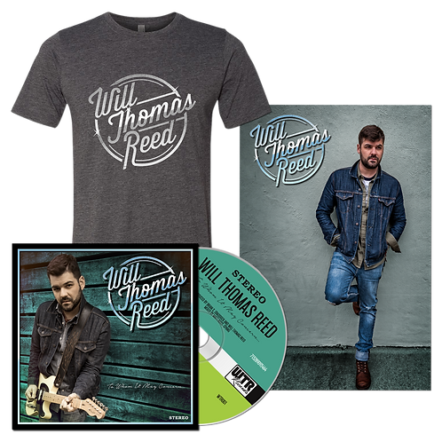 Will Thomas Reed - Deluxe CD & T-Shirt Bundle