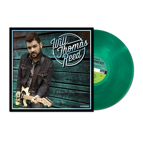 """Will Thomas Reed """"To Whom It May Concern"""" Vinyl"""