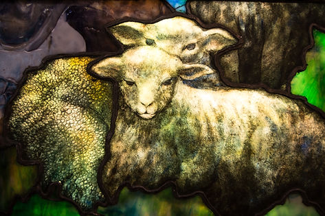 Detail of Prayer of the Shepherd