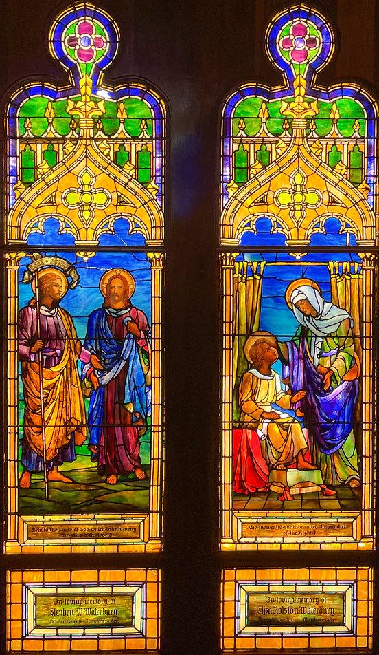 Detail of John the Baptist
