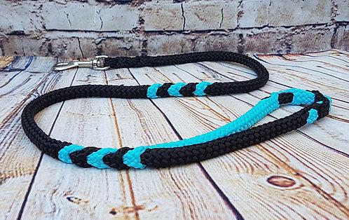 Black-Neon Turquoise
