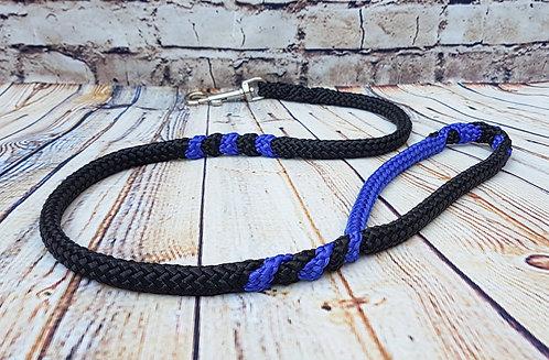 Black-Electric Blue