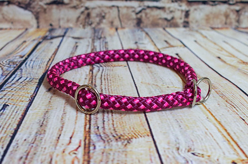 Aubergine Pink Dotty