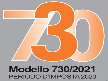 MODELLO 730 E MODELLO DEI REDDITI 2021