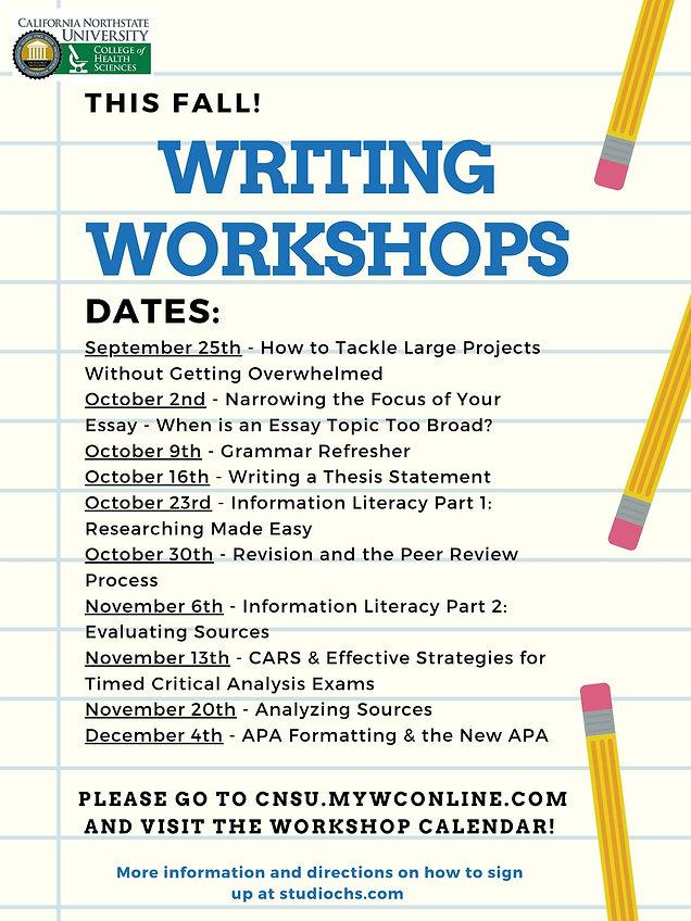 2020 Fall Workshops Master Flyer.jpg