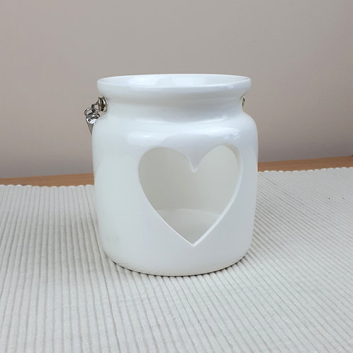 White Porcelain Tealight Holder