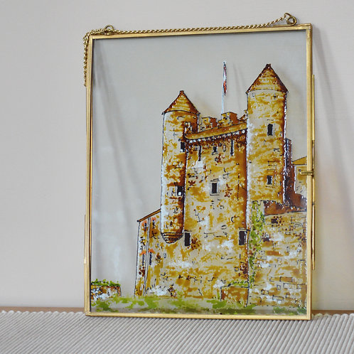 Enniskillen Castle Glass Painting