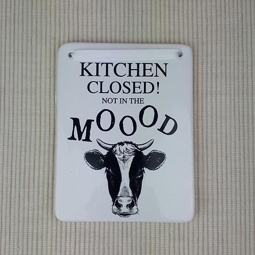 Cow animal plaque