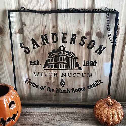 Saunderson Witch Museum Glass Painting