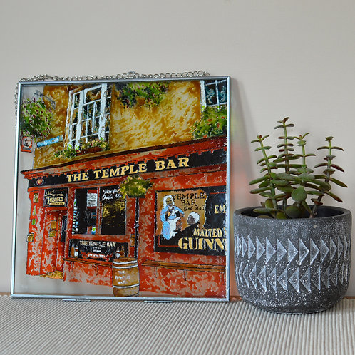 Temple Bar Glass Painting