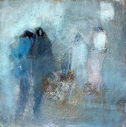 Nadée - Blue white