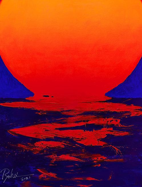オリジナル原画【Sunrise 4】